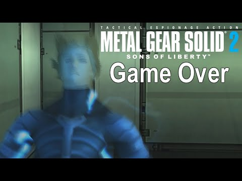 Game Over: Metal Gear Solid 2: Sons of Liberty HD Edition (D