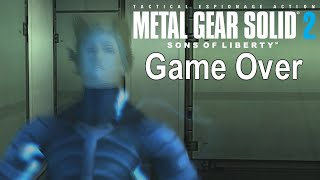 Game Over: Metal Gear Solid 2: Sons of Liberty HD Edition (Death Animations)