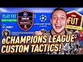 MY eCHAMPIONS LEAGUE TACTICS!! TOP 100 OR ELITE 1 FUT CHAMPS PRO GAMEPLAY! FIFA 19 ULTIMATE TEAM