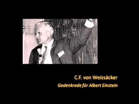 C.F. von Weizsäcker - Einstein und Newton (Audio)