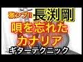 長渕剛 [唄を忘れたカナリア] 前奏エレキギター Takamine使用guitar cover 笛吹利明 角田順