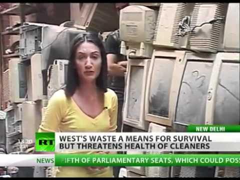 US uses India as electronics garbage dump