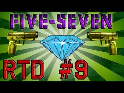 [Black Ops 2] Road to DIAMOND - Parte 9 (Pistolas) - É OOOOOURO na Five-SevenI!!! [Five-Seven]