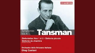Sinfonietta No. 1: I. Allegro assai - Uno poco piu lento - Tempo I