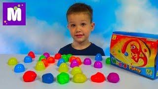 Жвачка для рук набор в яйцах прыгающая игрушка Silly Hand Gum