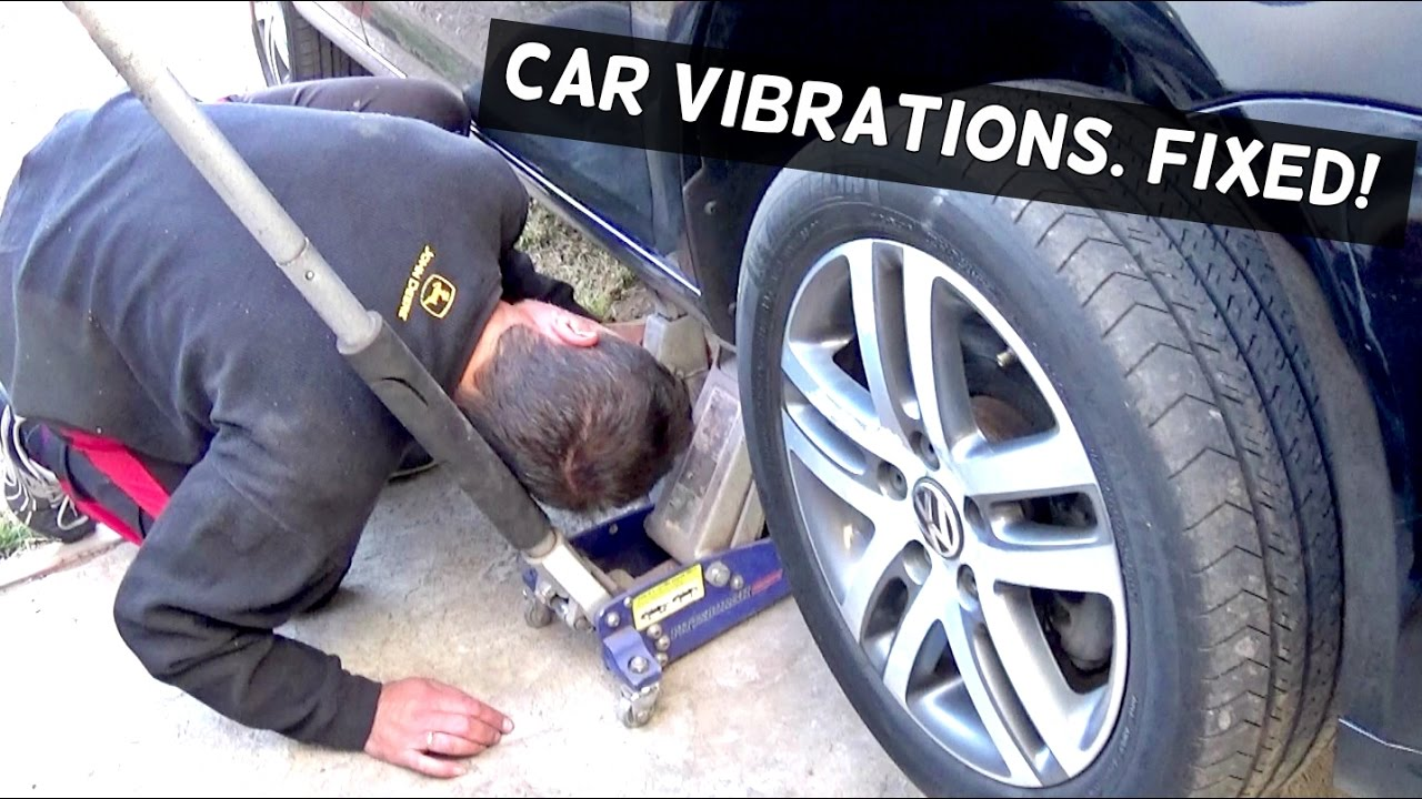 VIBRATIONS WHEN ACCELERATING, COASTING, BRAKING  FIX!