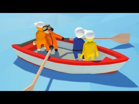 WORKING WITH BOATS! - HUMAN FALL FLAT