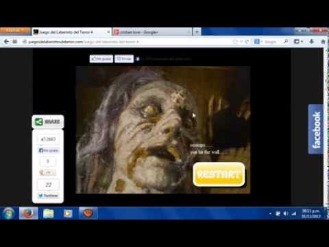Juego Del Laberinto Del Terror 4 Youtube
