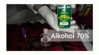 Handsanitizer dari baby oil