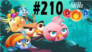 Angry Birds Stella Pop Level-210 Walkthrough For Android