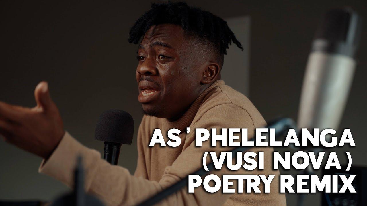 Download Zamoh Cofi - As'phelelanga (vusi nova) Poetry remix ft. Percy Dhlamini & Novex