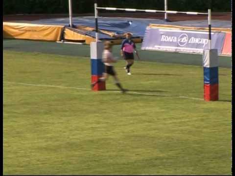 georgian rugby sevens.moscow 2010.try by george kalmakhelidze