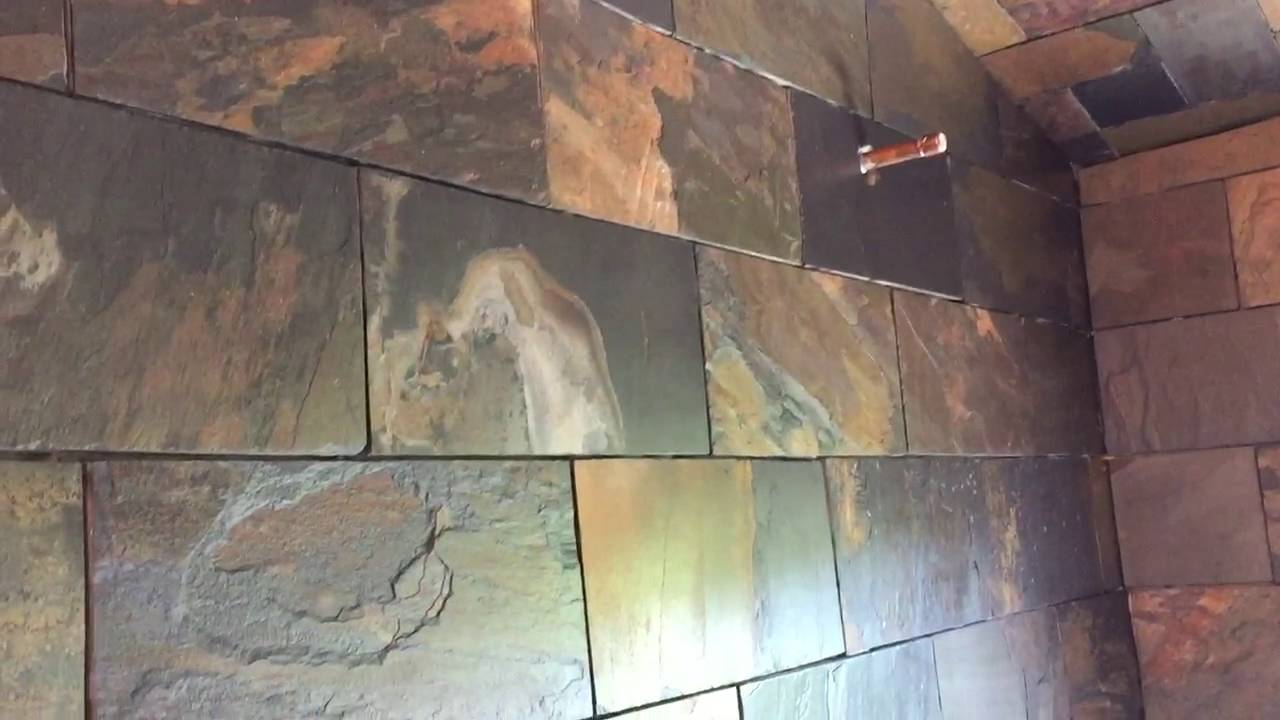 511 Seal & Enhance on slate tile - YouTube
