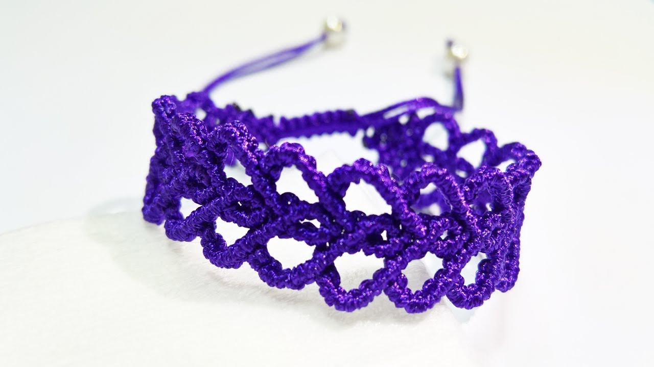 DIY friendship bracelet Advanced, TẾT vòng tay trái tim, cách làm vòng tay đơn giản,macrame bracelet
