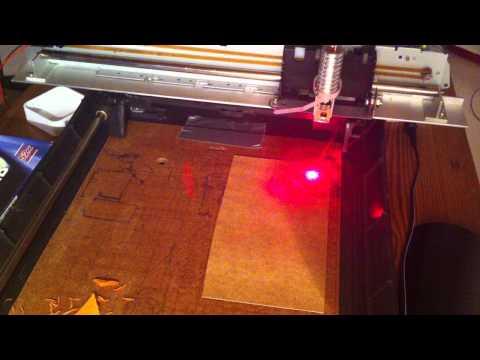 DVD Laser diode engraving