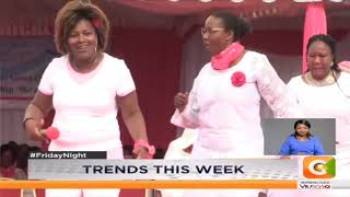 News Trends : Women leaders at the rally engaged in the now-famous Tetema dance.