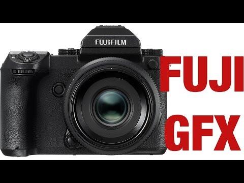Fuji GFX - New Medium Format Mirrorless