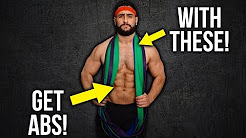 5 Killer Resistance Band Ab Exercises (Combine For A Total Ab Workout!!)