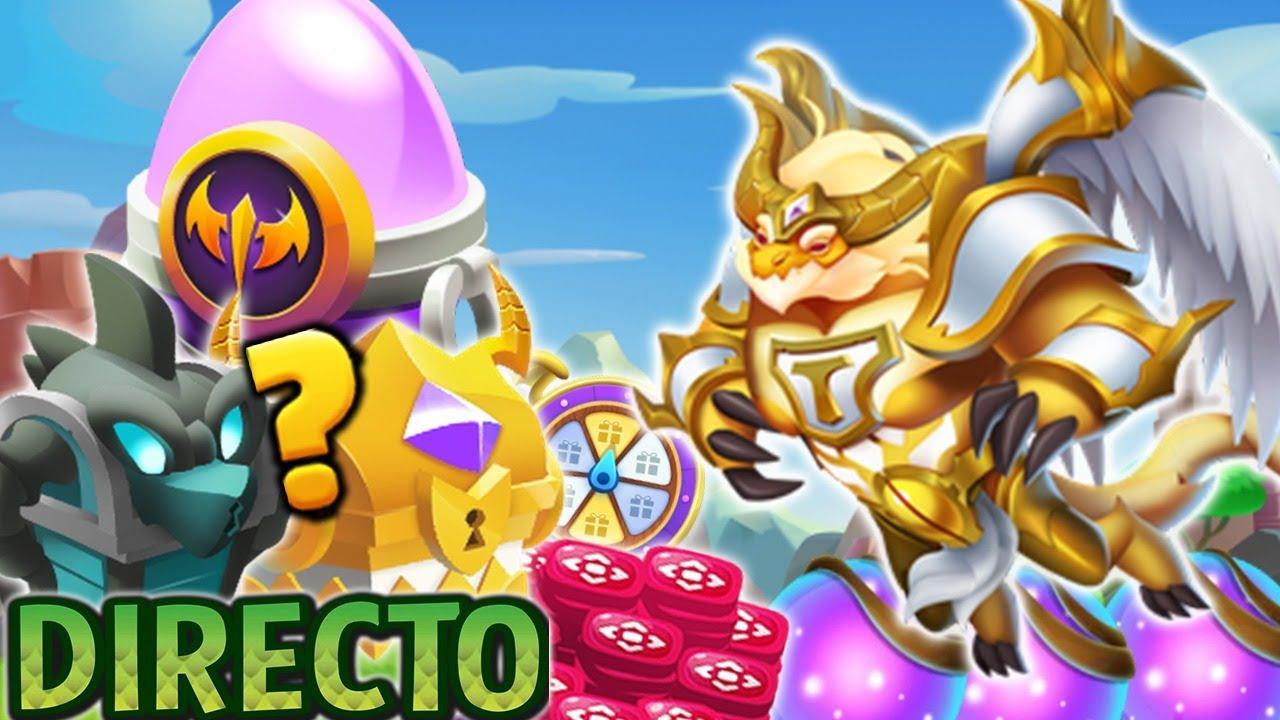 🔴ABRO COFRE HUEVO MÍTICO & 50 ORBES del TITAN de LUZ!😱 JUGANDO MAL el PUZZLE! Dragon City