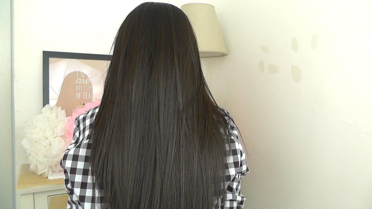 Recette naturelle cheveux lisse