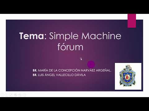 Simple Machine Forum