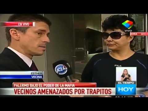 """Vecinos amenazados por """"Trapitos"""""""