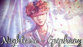 Nightcore - Epiphany | BTS Jin