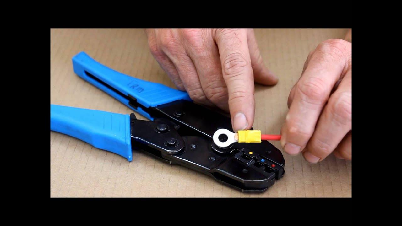 trm crimping pliers youtube. Black Bedroom Furniture Sets. Home Design Ideas