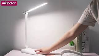 Đèn Bàn Học LED USB Di Động Cao Cấp Có Thể Gập Hai Chỗ 03 Chế Độ Ánh Sáng Vàng Bảo Vệ Mắt Chống Cận