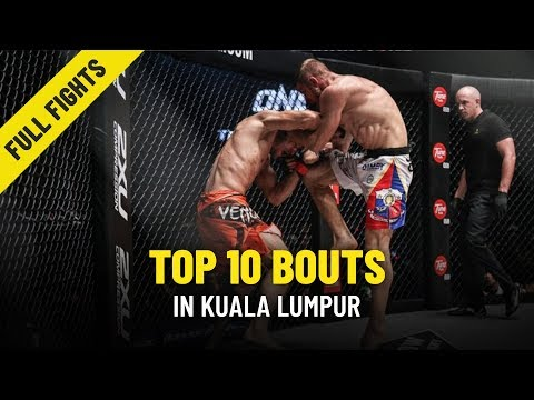 Top 10 Bouts | Kuala Lumpur | ONE Full Fights