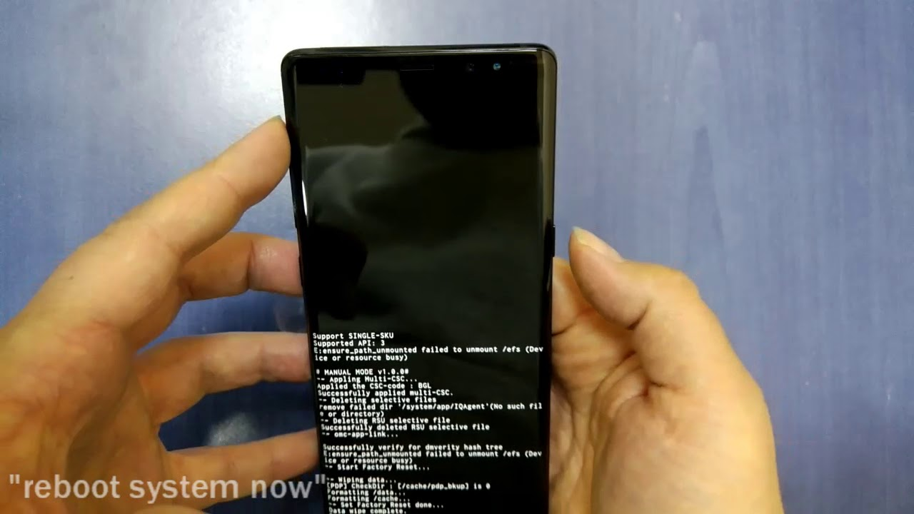 Hard Reset SAMSUNG Galaxy Note 8 , REMOVE PATTERN SCREEN LOCK