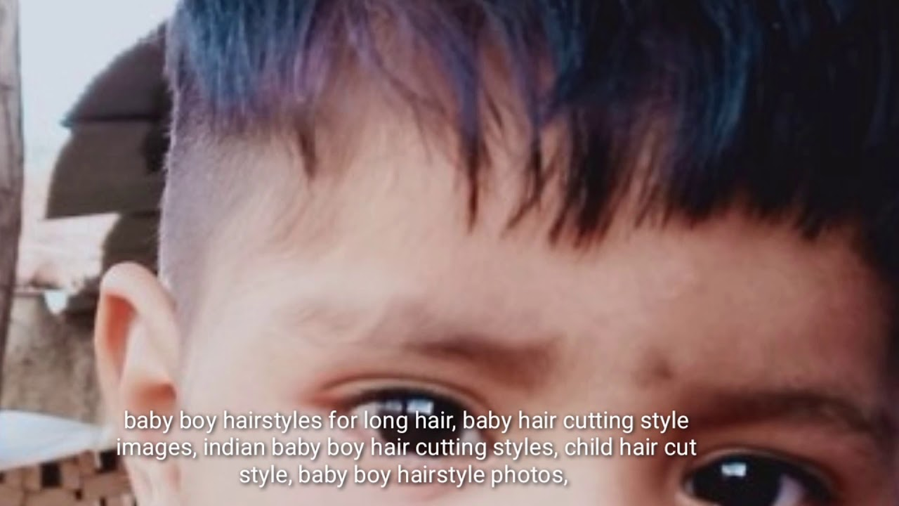 indian boy hairstyle , hairstyle cutting for kids - youtube