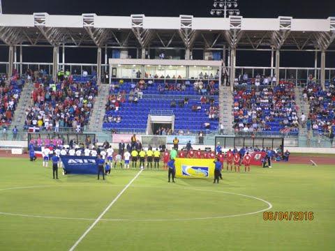Copa del Caribe de Fútbol Bermudas 0 Republica Dominicana 1 Todos Metas 04/06/16 (Primero Tiempo)