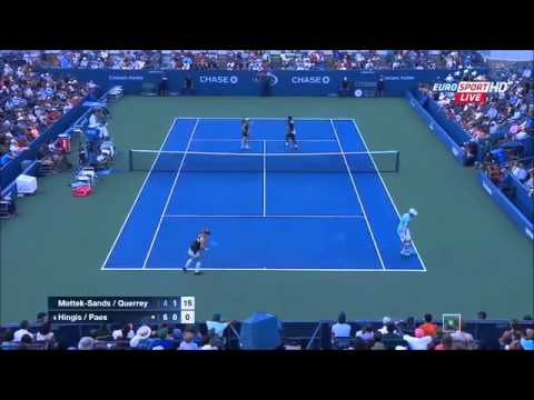 US Open 2015 Mixed Doubles Final