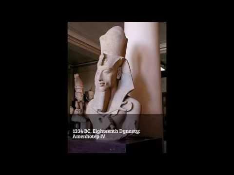 Ancient Egyptian Pharaohs 3100 BC to 332 BC.