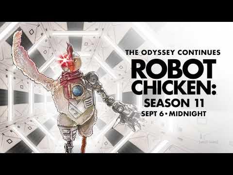 TRAILER: Robot Chicken Season 11   adult swim