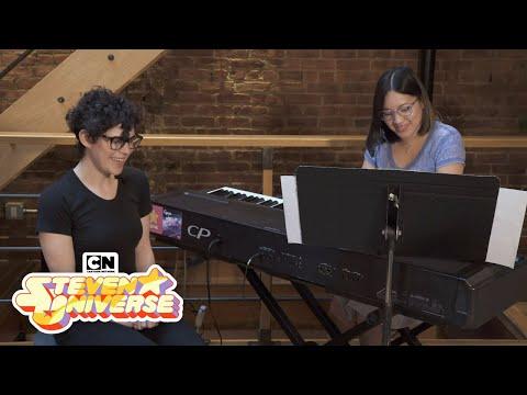 Steven Universe | Rebecca Sugar & Aivi Surasshu Live Session Medley