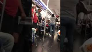 Fight on train