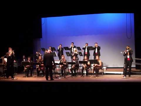 David Douglas High School Jazz 1, 4 of 4 Jazz night, 2015