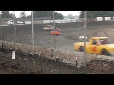 Wild part of Brady Muller's Race Ocean Speedway
