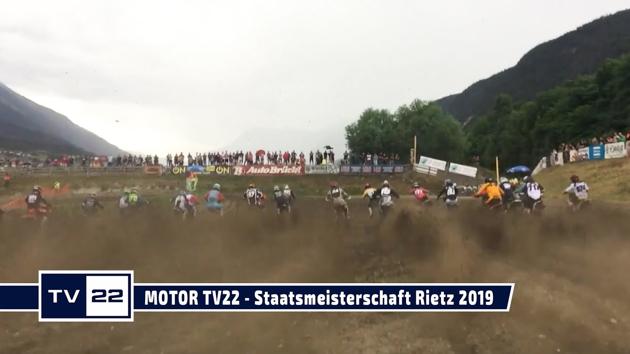 Die Österreichische Motocross Staatsmeisterschaft in Rietz 2019