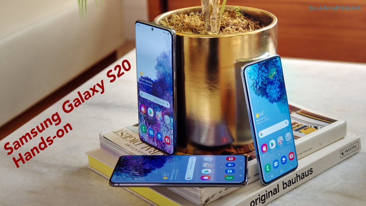 Samsung Galaxy S20 5G hands-on - The S20 Ultra is how much?!
