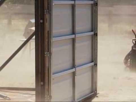Weather Proof: Blasting A Garage Door   YouTube