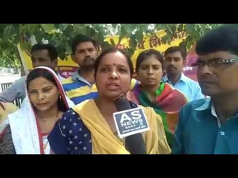 आज से लखनऊ में बहन उमा देवी शिक्षामित्रों के प्रदर्शन को लेकर मीडिया से बातचीत करते हुए