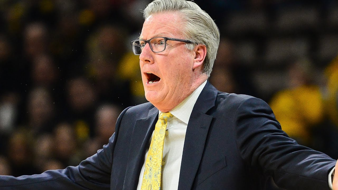 Fran McCaffery's first encounter with Iowa Hawkeye basketball came ...