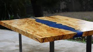 Making An Epoxy Resin River Table