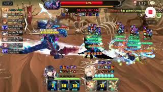 King's Raid - JoffeyPeterTrebliw Vs GC2 Lakreil (2:02)