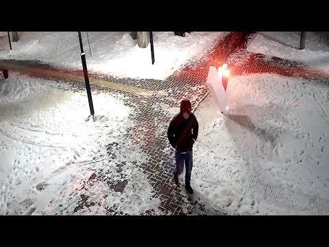 Запись видеонаблюдения Городского парка г. Лысково (16.12.18)