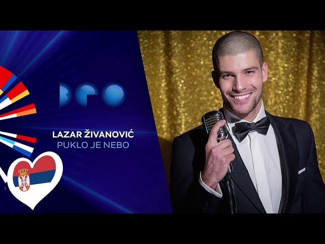 Lazar Živanović - Puklo je nebo / Beovizija 2020