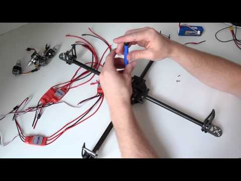 Basic Quadcopter Tutorial - Chapter 3 - Power System